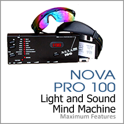 Nova Pro 100 Light and Sound Mind Machine by Photosonix